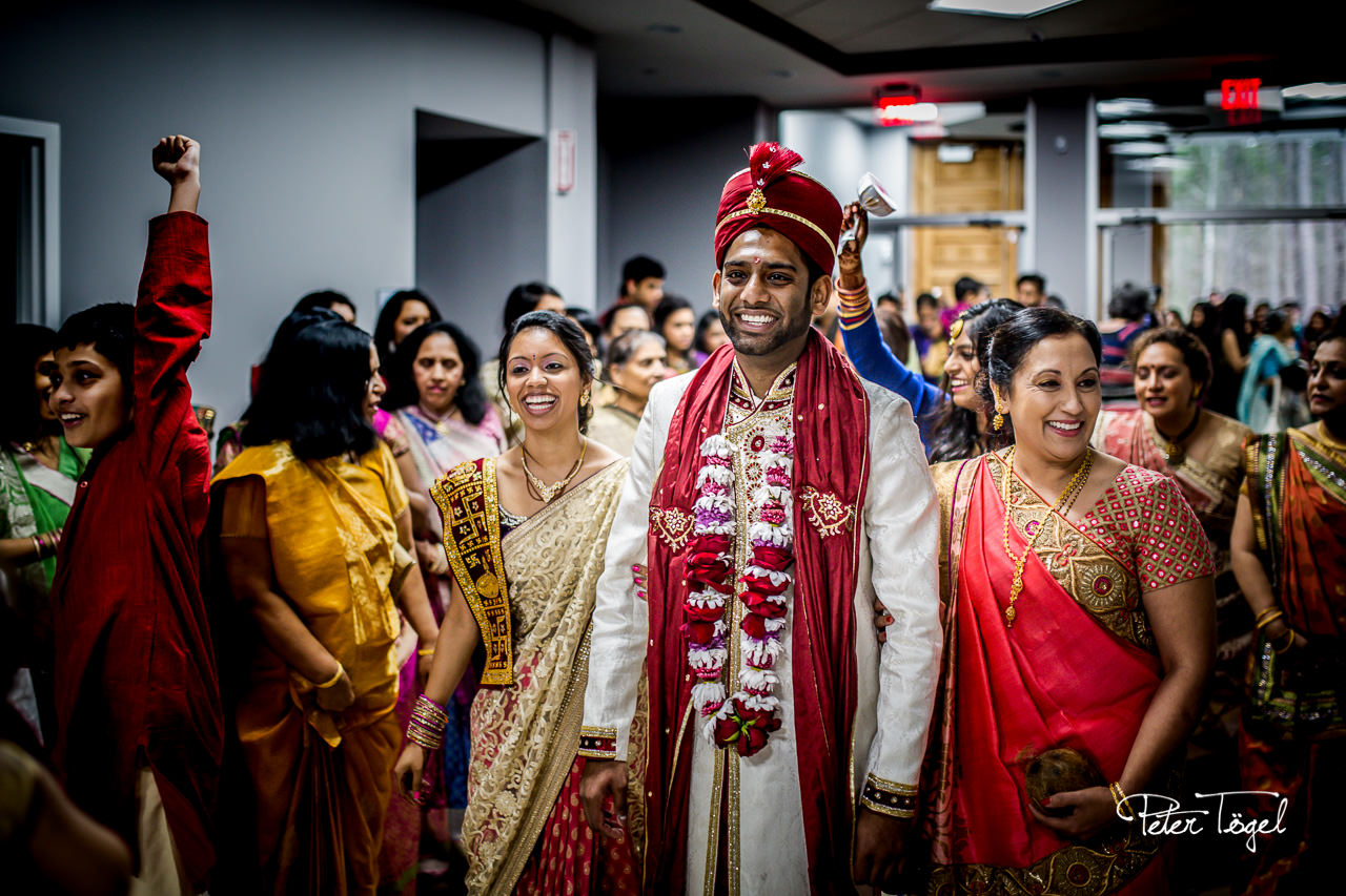 Baraat: Arrival of the groom